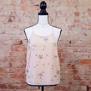 Free People Intimately NWOT tank w/ sequin stars